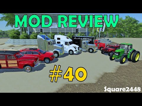 farming-simulator-19-mod-review-#40-kenworth-sleeper,-peterbilt-pack,-jd-tractor,-h1-&-more!