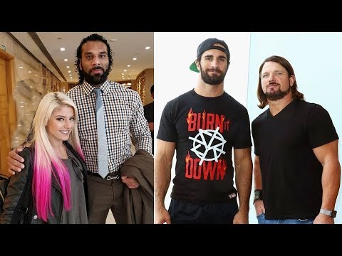 10 Most Shocking WWE Friends in Real Life - Brock Lesnar, Ronda Rousey, Undertaker, Sting & more