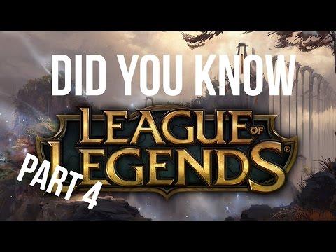 видео: [Знали ли вы] league of legends (Лига Легенд) Часть 4