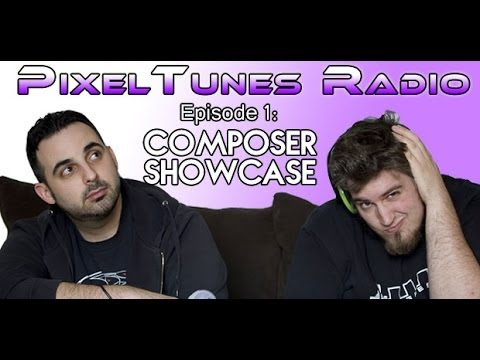 PixelTunes Radio Podcast Show-Episode 1: Composer Showcase