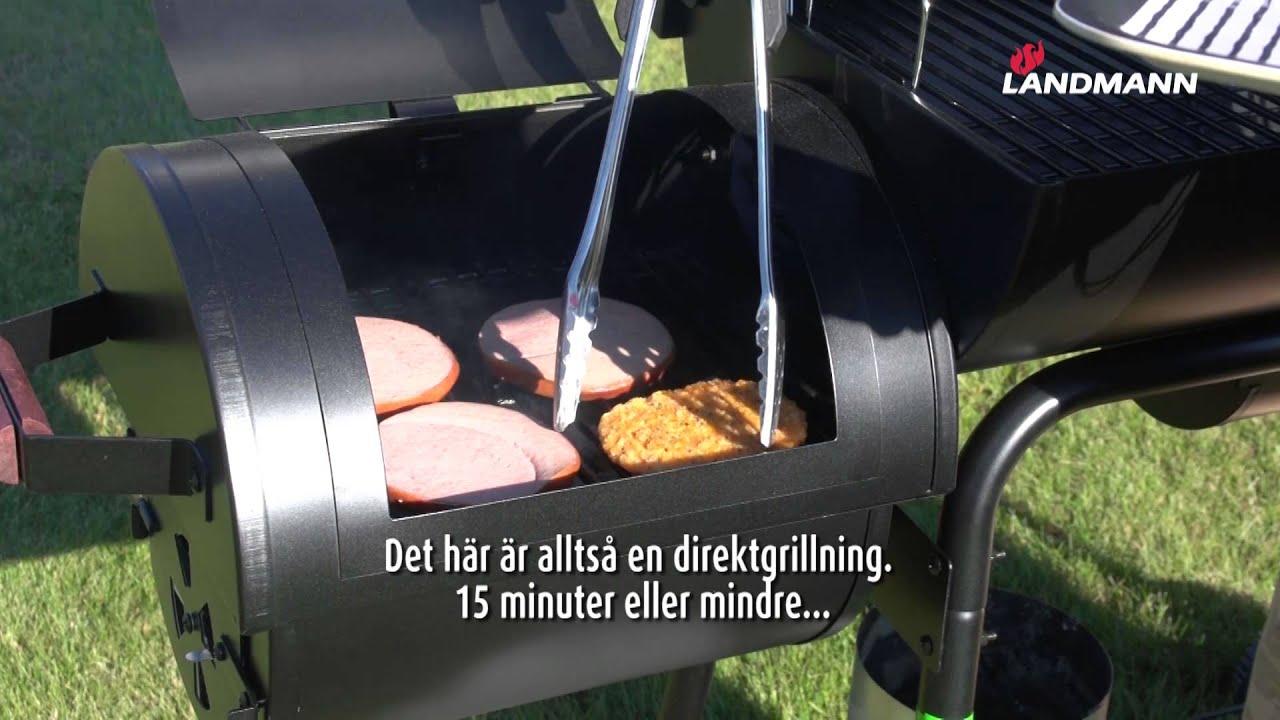 Landmann Black Taurus Expert Holzkohlegrill : Landmann taurus barbecue smoker youtube