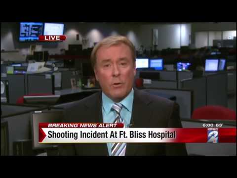 Breaking News Shooting at William Beaumont Army Medical Center in El Paso, Texas 1 6 2015