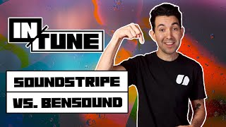 Soundstripe vs Bensound - Royalty Free Music Licensing For Filmmakers and Creators