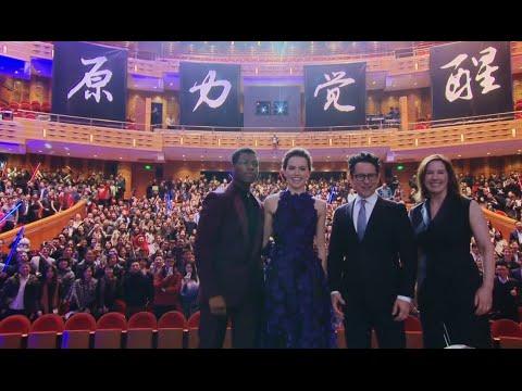 Star Wars: The Force Awakens: Shanghai China Red Carpet Premiere - Daisy Ridley, John Boyega