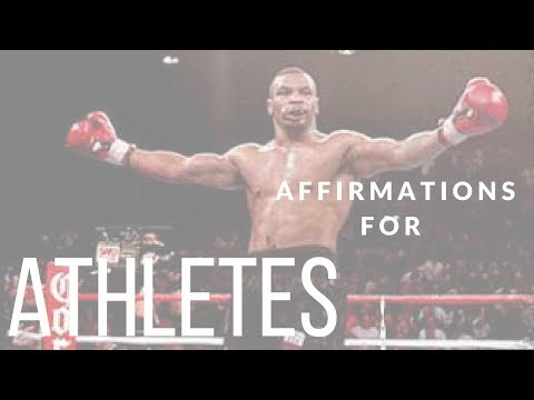 500+ Performance Enhancing Affirmations for ATHLETES! (Use for 30 Days!) ~ Good For ANY Sport!~