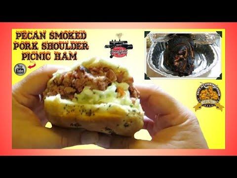 Pecan Smoked Pork Shoulder Picnic Ham