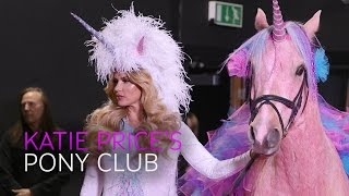 Katie Price Pony Club Press Launch