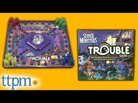 Super Monsters Trouble Game from Hasbro