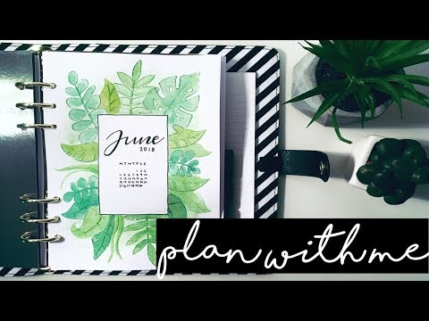 JUNE 2018 Bullet Journal SETUP & FLIPTHROUGH // PLAN WITH ME