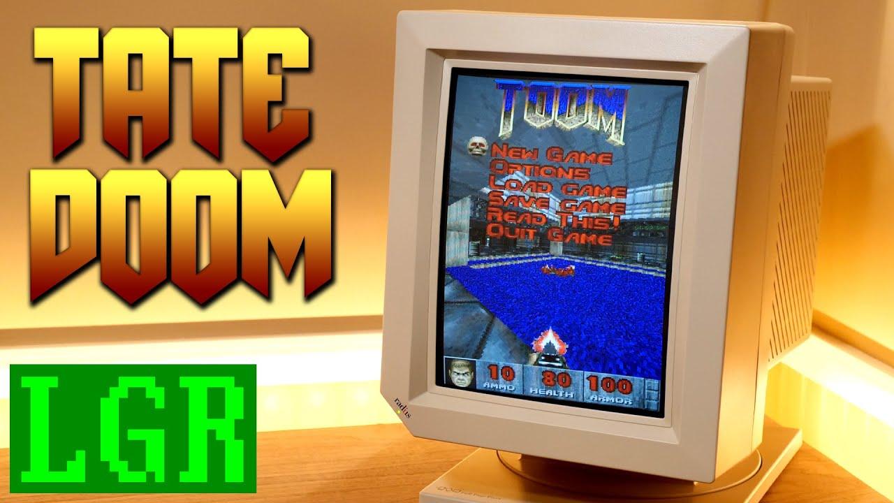 TOOM – Portrait Mode Doom for DOS PCs