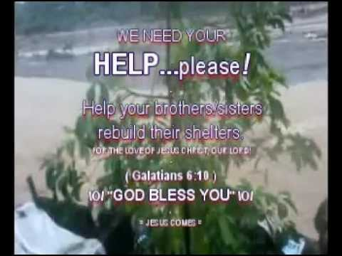PLEASE, HELP YOUR BROTHERS/SISTERS - August, 2012 - Sometimes It Takes A Storm