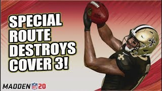 Special Route to DESTROY Cover 3 in Madden 20!