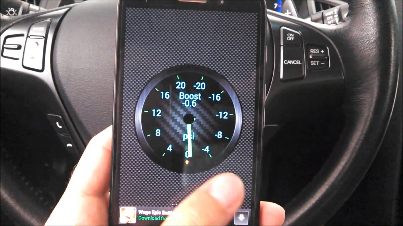 Genesis Coupe With Torque App Android  YouTube