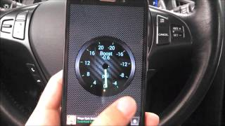 Genesis Coupe With Torque App- Android