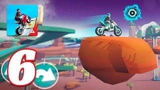 Gravity Rider: Space Bike Racing Game Online levels 3-6 new bike unlocked
