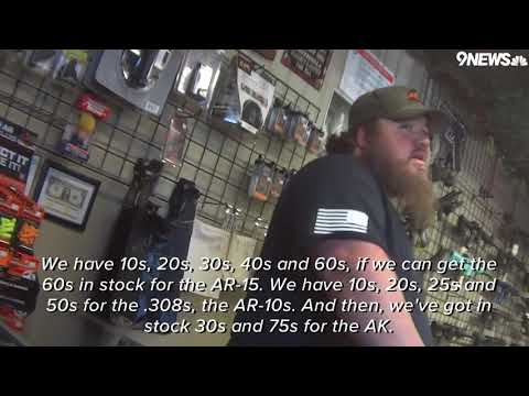 RAW: Gun Shops Explain How They Get Around Law To Sell Large-capacity Gun Magazines