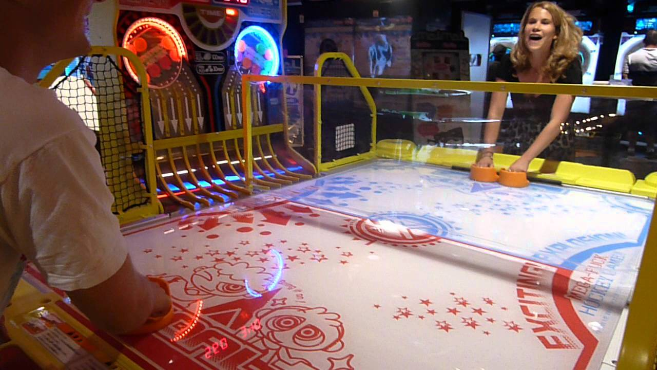 Amazing Best. Air Hockey Table. Ever.   YouTube