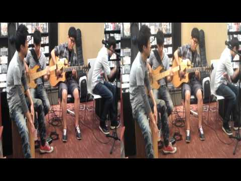 Some Taiwanese band I saw in a music shop in Taipei. Anyone know who they are?