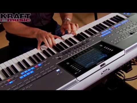 Kraft Music - Yamaha Tyros5 Demo With Peter Baartmans