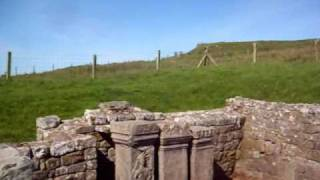 Roman Temple of Mithras near Hadrian's Wall