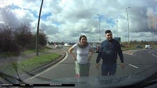 Cash For Crash BMW LM58BLZ Caught On Dashcam A10
