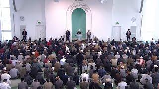 Freitagsansprache 17. April 2015: Khalifatul Masih II - Perlen der Weisheit
