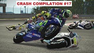MotoGP 17 | Crash Compilation #17 | PC GAMEPLAY | TV REPLAY MotoGP
