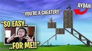 Fortnite Pro DEVASTATED When Best Console Player DESTROYS Him! (Fortnite 1v1)
