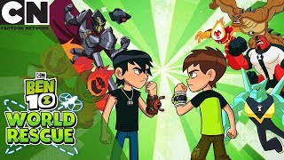 Ben 10 | Ben 10 World Rescue Full Playthrough | Cartoon Network UK
