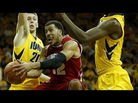 No. 16 Wisconsin Beats No. 15 Lowa 79 74