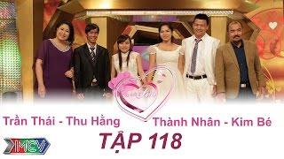 VỢ CHỒNG SON - tập 118   Trần Thái - Thu Hằng   Thành Nhân - Kim Bé   08/11/2015