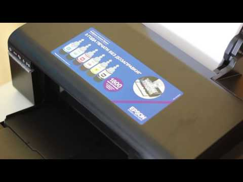 Мой принтер | Epson L805 | Настройка печати