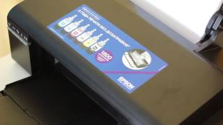 Мой принтер  Epson L805  Настройка печати