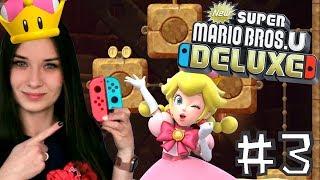 ⭐️ NOWA postać - dotyka korony i .... | New Super Mario Bros.U Deluxe #3