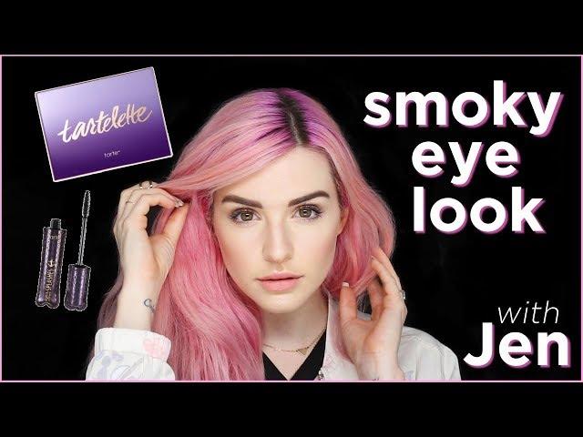 makeup tutorial: smoky eye with jen