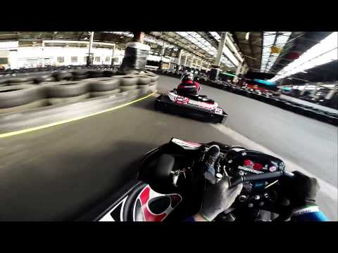Master at work - Warrington Go Karting