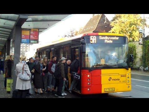Copenhagen Airport Bus 5A to City Centre YouTube