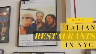Must-Try Italian Restaurants In NYC