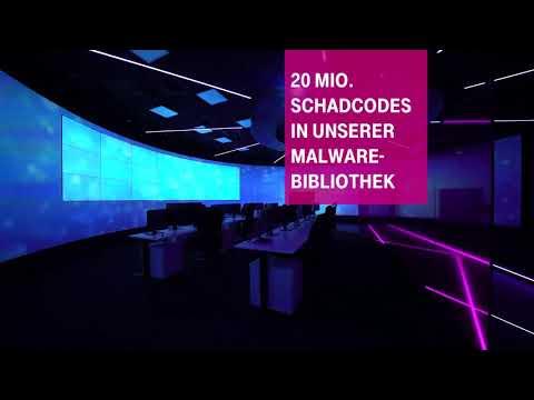 Social Media Post: Deutsche Telekom baut Cyberabwehr aus