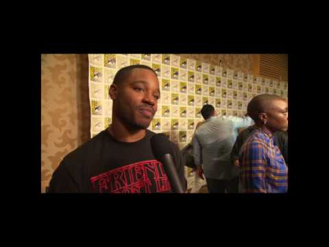 Ryan Coogler Interview On Black Panther Trailer and San Diego Comic Con Hall H Reaction #SDCC