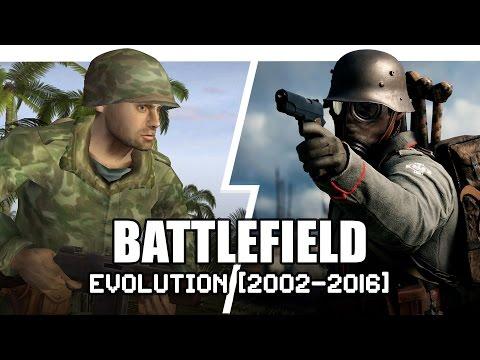 วิวัฒนาการ Battlefield ปี 2002 - 2016