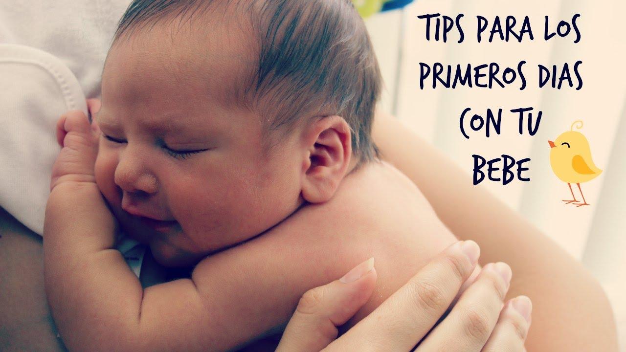 c0724f1ce Tips para los primeros días con el bebe - YouTube