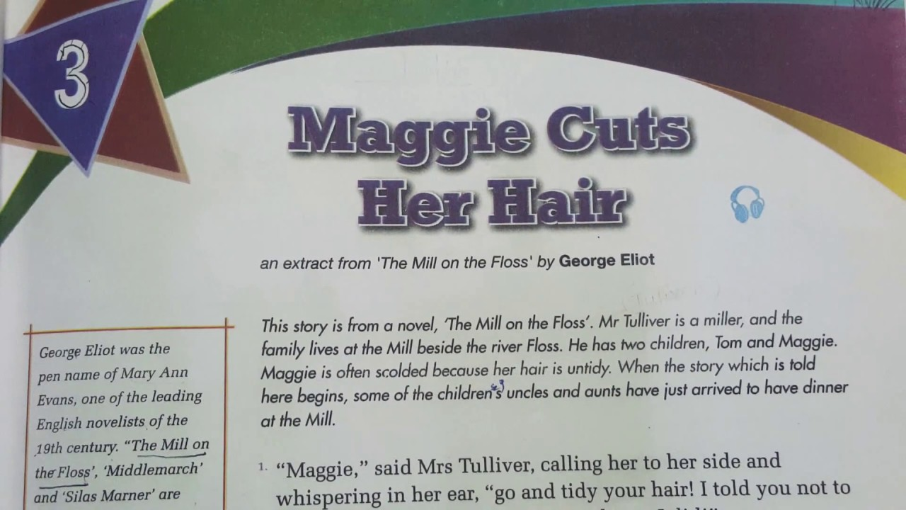 Summary of Maggie Cuts Her Hair - YouTube