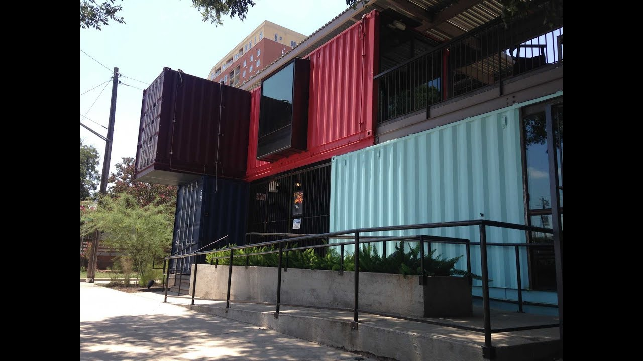shipping container homes design ideas youtube rh youtube com Rubix Cube Modular Shipping Container Modern Shipping Container Homes