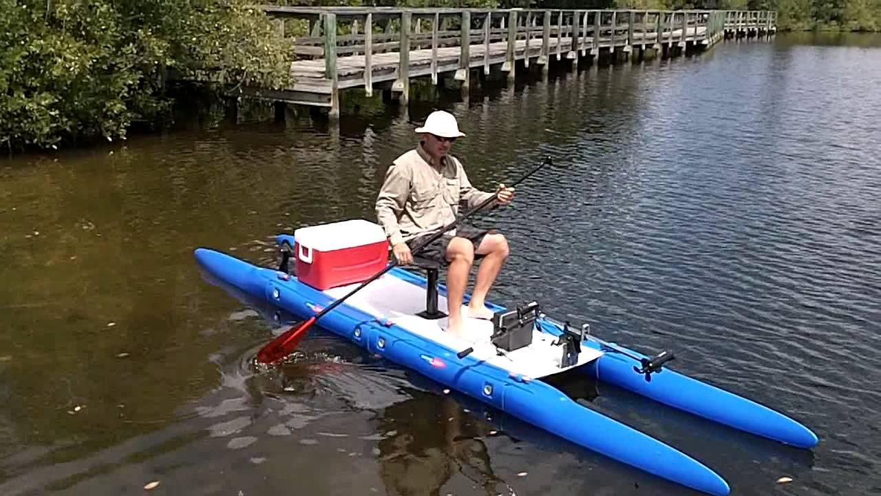 Expandacraft fishing catamaran youtube for How to fishing