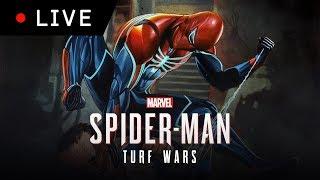 LIVE | SPIDER-MAN DLC TURF WARS PS4 FR