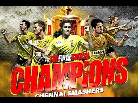 PBL 2 Final 2017, Chennai Smashers vs Mumbai Rocket: Chennai Smashers won the title by 4-3