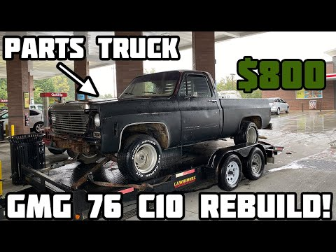 Rebuilding Gas Monkey Garage Wrecked 1976 Chevy C10 Part 4