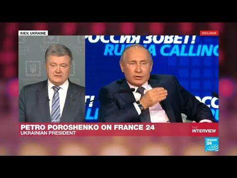 """Petro Poroshenko: """"'Putin refuses to talk to me'"""