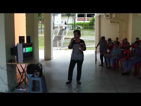 Happy Angel - BMV 123 & 117 Elderly & Volunteers Karaoke (2) - 08-05-2010